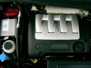 Umbau Autogas Motorraum