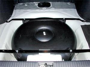 Umbau Autogas Tank
